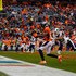 Demaryius Thomas Photos - Wide receiver Demaryius Thomas #88 of the Denver Broncos catches a touchdown pass against safety John Johnson III #43 of the Los Angeles Rams during the fourth quarter at Broncos Stadium at Mile High on October 14, 2018 in Denver, Colorado. The Rams defeated the Broncos 23-20. - Los Angeles Rams vs. Denver Broncos