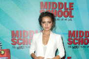 """Actress Isabela Moner attends the Los Angeles Red Carpet Screening of """"Middle School"""" in Hollywood, California, on October 5, 2016. / AFP / VALERIE MACON"""
