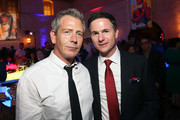 "(L-R) Actor Ben Mendelsohn and director/writer Ryan Fleck attend the Los Angeles World Premiere of Marvel Studios' ""Captain Marvel"" at Dolby Theatre on March 4, 2019 in Hollywood, California."