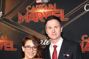 "(L-R) Directors/writers Anna Boden and Ryan Fleck attend the Los Angeles World Premiere of Marvel Studios' ""Captain Marvel"" at Dolby Theatre on March 4, 2019 in Hollywood, California."