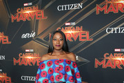 "Chiney Ogwumike attends the Los Angeles World Premiere of Marvel Studios' ""Captain Marvel"" at Dolby Theatre on March 4, 2019 in Hollywood, California."