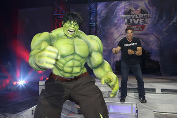 Lou Ferrigno Marvel Universe LIVE! Age of Heroes World Premiere Celebrity Red Carpet Event