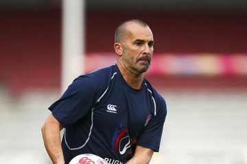 Louie Spence Rugby Aid 2015 Celebrity Rugby Match Media Session