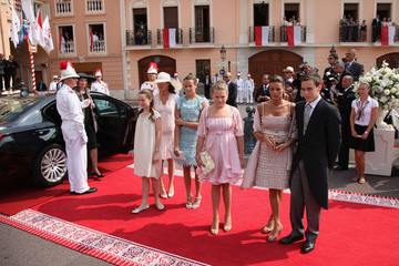 Louis Ducruet Monaco Royal Wedding - The Religious Wedding Ceremony