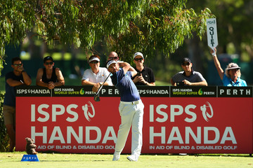 Louis Oosthuizen ISPS HANDA World Super 6 Perth - Round Two