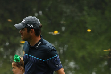 Louis Oosthuizen The Masters - Preview Day 3