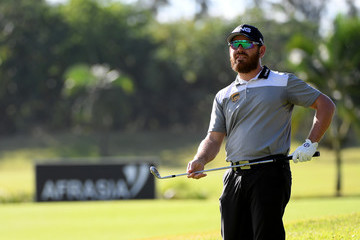Louis Oosthuizen AfrAsia Bank Mauritius Open - Day One
