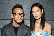 Hidetoshi Nakata and Tao Okamoto attend the Louis Vuitton show as part of the Paris Fashion Week Womenswear Fall/Winter 2019/2020  on March 05, 2019 in Paris, France.