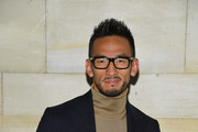 Hidetoshi Nakata attends the Louis Vuitton show as part of the Paris Fashion Week Womenswear Spring/Summer 2019 on October 2, 2018 in Paris, France.