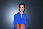 (EDITORIAL USE ONLY) Alicia Vikander attends the Louis Vuitton show as part of the Paris Fashion Week Womenswear Fall/Winter 2020/2021 on March 03, 2020 in Paris, France.