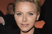 Princess Charlene of Monaco attends the Louis Vuitton show as part of the Paris Fashion Week Womenswear Fall/Winter 2014-2015 on March 5, 2014 in Paris, France.