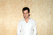 Mark Ronson attends the Louis Vuitton Womenswear Spring/Summer 2020 show as part of Paris Fashion Week on October 01, 2019 in Paris, France.