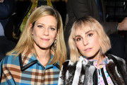 Marina Fois and Noomi Rapace attend the Louis Vuitton show as part of the Paris Fashion Week Womenswear Fall/Winter 2019/2020  on March 05, 2019 in Paris, France.