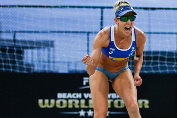 Louise Bawden FIVB Beach Volleyball World Tour Rio - Day 1