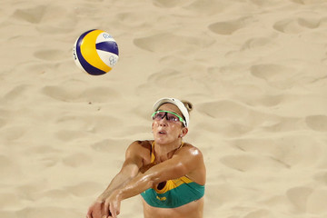 Louise Bawden Beach Volleyball - Olympics: Day 3
