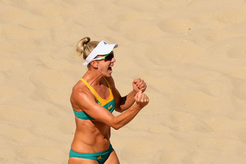 Louise Bawden Beach Volleyball - Olympics: Day 1