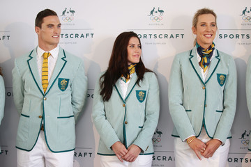 Louise Bawden Australian Olympic Games Opening Ceremony Uniform Official Launch