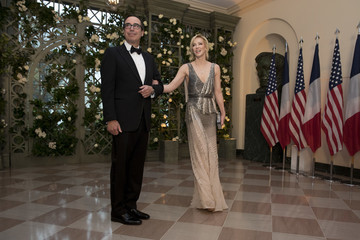 Louise Linton Trump And First Lady Hosts State Dinner For French President Macron And Mrs. Macron