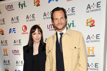 Louise Newbury Arrivals at A+E Networks Upfront
