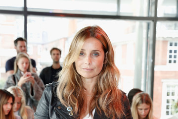 Louise Redknapp Front Row & Arrivals - Day 3 - LFW September 2016
