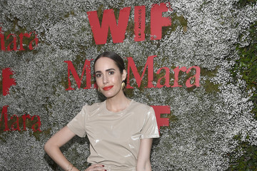 Louise Roe Max Mara Celebrates Elizabeth Debicki – The 2019 Women In Film Max Mara Face Of The Future