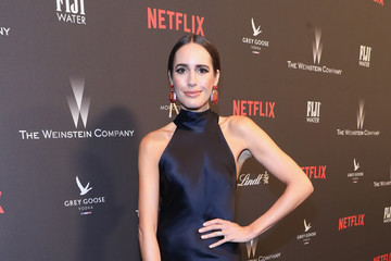 Louise Roe The Weinstein Company and Netflix Golden Globes Party Presented With FIJI Water