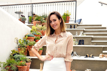 Louise Roe RAYE Shoe Launch Event Hosted By Chrissy Teigen And Hillary Kerr Held At Ysabel