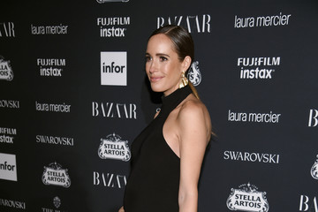 Louise Roe Harper's BAZAAR Celebrates 'ICONS By Carine Roitfeld' At The Plaza Hotel Presented By Infor, Laura Mercier, Stella Artois, FUJIFILM And SWAROVSKI - Red Carpet