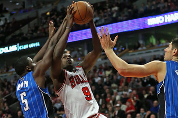 Loul Deng Orlando Magic v Chicago Bulls