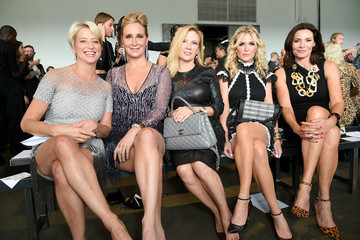LuAnn de Lesseps Pamella Roland - Front Row - September 2019 - New York Fashion Week