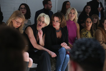 LuAnn de Lesseps Georgine - Front Row - Fall 2016 New York Fashion Week: The Shows