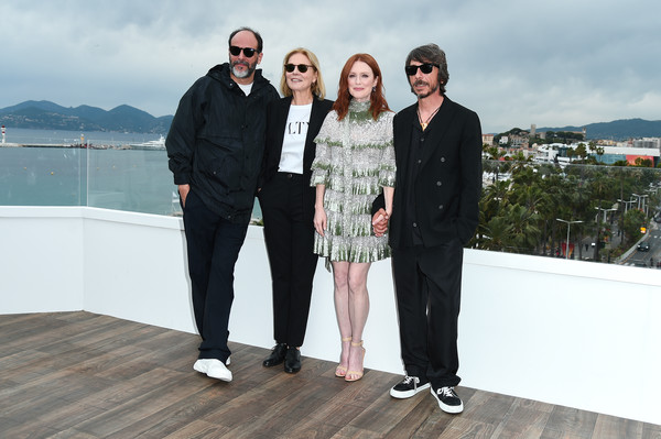 'The Staggering Girl' Photocall - The 72nd Annual Cannes Film Festival [the staggering girl,people,fashion,event,fun,vacation,photography,tourism,architecture,suit,eyewear,marco morabito,julianne moore,marthe keller,luca guadagnino,cannes,france,photocall - the 72nd annual cannes film festival]