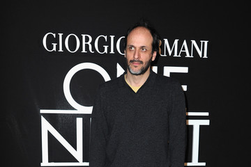 Luca Guadagnino Front Row at the Giorgio Armani Show