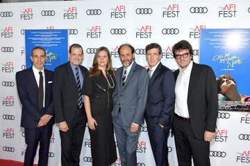 Luca Guadagnino Peter Spears AFI FEST 2017 Presented By Audi - Screening Of 'Call Me By Your Name' - Arrivals