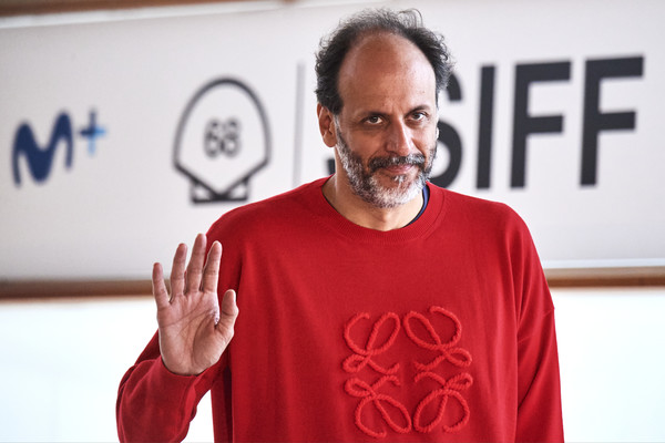 """""""We Are Who We Are"""" Photocall - 68th San Sebastian Film Festival [we are who we are,red,gesture,t-shirt,room,facial hair,beard,t-shirt,luca guadagnino,photocall,beard,red,gesture,italian,kursaal palace,san sebastian film festival,t-shirt,beard]"""