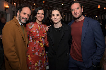 Luca Guadagnino Timothee Chalamet Vanity Fair, Barneys New York and Sony Pictures Classics Celebrate 'Call Me By Your Name'