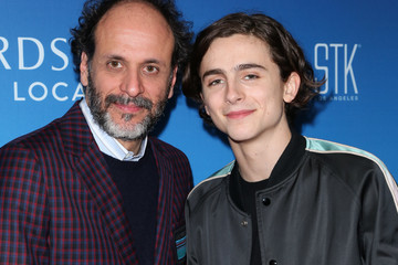 Luca Guadagnino Timothee Chalamet Sony Pictures Classics Oscar Nominees Dinner