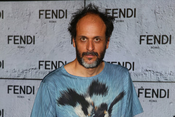 Luca Guadagnino Front Row at Fendi