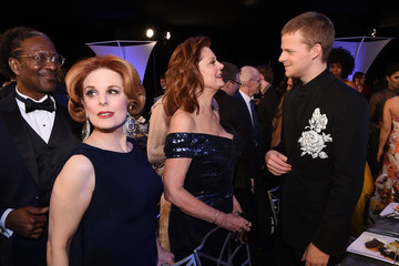 Lucas Hedges 24th Annual Screen Actors Guild Awards - Cocktail Hour