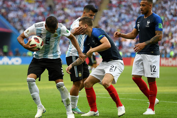 Lucas Hernandez France vs. Argentina: Round Of 16 - 2018 FIFA World Cup Russia
