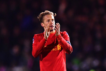 Lucas Leiva Plymouth Argyle v Liverpool - The Emirates FA Cup Third Round Replay