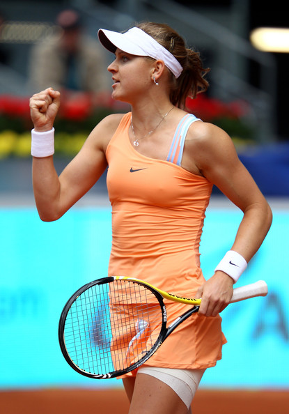 Lucie Safarova - Mutua Madrilena Madrid Open - Day 2
