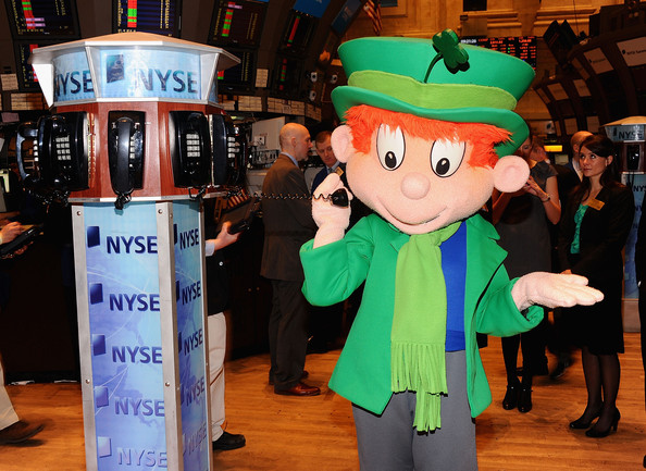 Lucky Charms' Lucky The Leprechaun Rings The NYSE Opening Bell ...