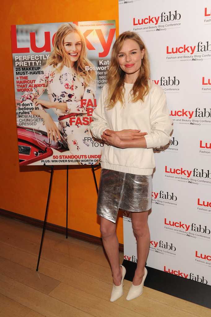 Kate Bosworth attends Lucky Magazine's Two-Day East Coast FABB: Fashion and Beauty Blog Conference - Day 1 on October 25, 2013 in New York City.