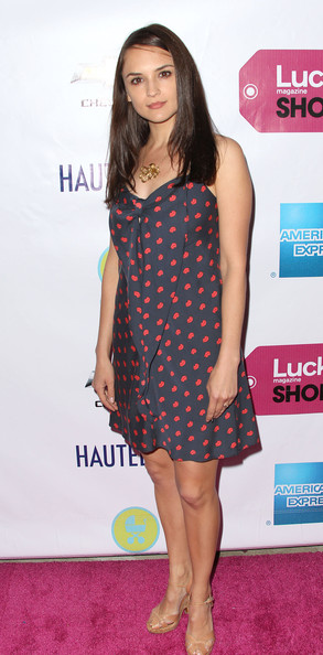 "Actress Rachael Leigh Cook attends Lucky Magazine Host The First Annual ""Lucky Shops LA"" at Siren Studios on April 7, 2011 in Los Angeles, California."