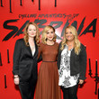 Lucy Davis Netflix's 'The Chilling Adventures of Sabrina' Q&A And Reception