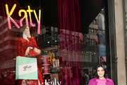Lucy Hale celebrates Katy Keene windows at Saks Fifth Avenue on February 05, 2020 in New York City.