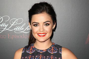 "Lucy Hale ""Pretty Little Liars"" Celebrates 100 Episodes"