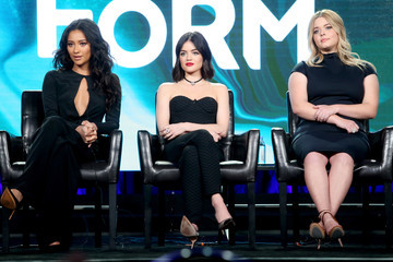 Lucy Hale Shay Mitchell 2017 Winter TCA Tour - Day 6
