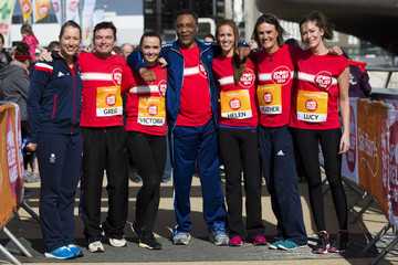 Lucy Horobin Sainsbury's Sport Relief Challenge Photocall
